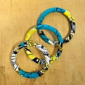 Bracelets en tissu
