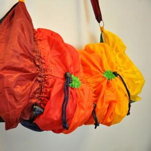 Grande besace en parapluie - taille ajustable