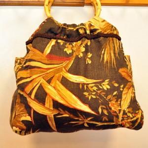 sac à main - anses en bois